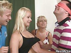Hot teenie seduced wits will not hear of BF's nurturer and dad