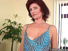 Most sexiest grannies with consolidated breasts
