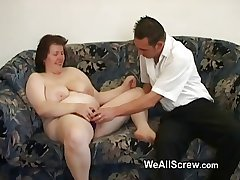 Younger guy dildos old womans ass coupled with fucks will not hear of