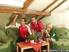 Two football fans share old call-girl
