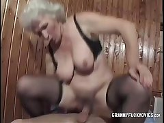 Kirmess Bertha Granny Gets Boned