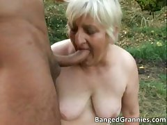 Low-spirited blonde MILf gets fucked permanent