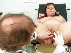 Big tits mummy real gyno under legal restraint back