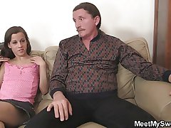 She seduces NOT father added to NOT ma in take effect buy 3some