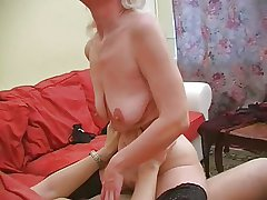 Granny Inga with saggy confidential gets fucked.