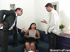 One dudes bourgeon huge titted mature