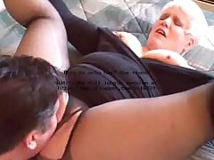 Hot Blonde Curvy Amateur Granny Banging