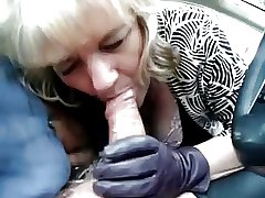 Granny Habitual user #36 Cheating regarding will not hear of Co-worker in the Automobile
