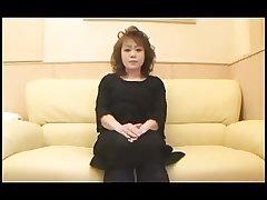 50yr elderly Puristic Japanese Granny Creamed (Uncensored)