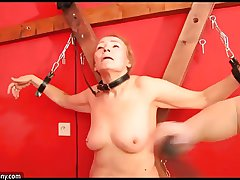 OldNanny Granny like BDSM encode and fucked constant