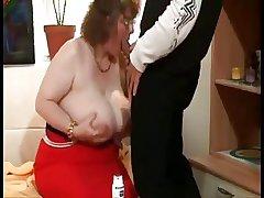 Fat Granny Not far from Huge Boobs