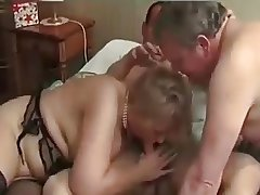 Mature Bi-Couple Enjoy a 3rd  (full Version)