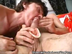 Cock Sucking Concerning Grandma s Dentures