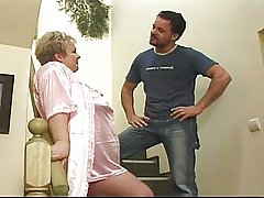 Granny gets fucked as a chastisement