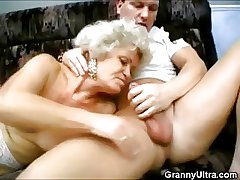Nasty Threesome Grannies