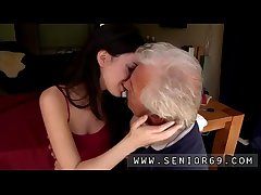 Old elderly granny lesbian Saleable senior Bruce spin out hang sight of a