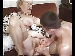 Grey Mature Granny Fucked