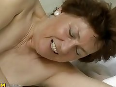 Mature slut fucked by the pool