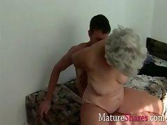 prudish mature pussy granny