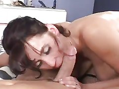 Mature up leather scullery-maid hardcore fucking