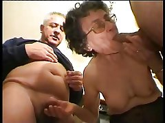 Granny Helen 82 life-span blowjob ornament 1