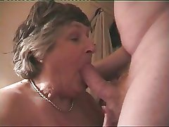 Big Breasted Granny Norma Loves To Spur A Hard Cock