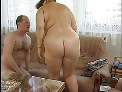 Superb Fat Titted Hairy Granny