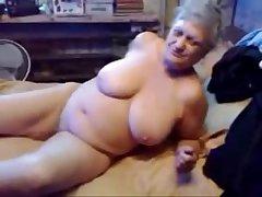 Horrific grandma ID card her pussy. Transparent amateur