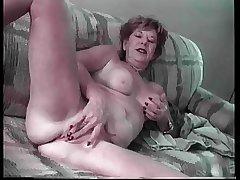 Granny Lydia Spitz Masturbates And Sucks For Cum