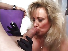 Hot Cougar Anjelica Lucifer Smoking Blowjob