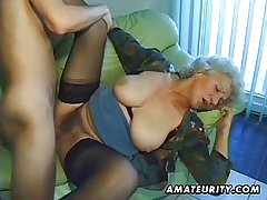 Ancient tyro mature get hitched sucks and fucks with cumshot