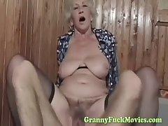 gay blade fucks XXX euro granny