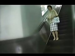 50yr age-old Japanese Granny with a Food Fetish (Uncensored)