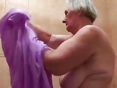 Grey Slut Granny Still Wants Load of shit