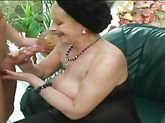 Granny Monika fucks!