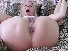 Czech granny Elvira All affianced & ass fucked in Swaggering Heels