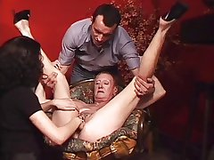 Big eroded granny MILG fisted and fucked hard