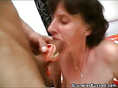Flannel Sucking Just about Grandma's Dentures