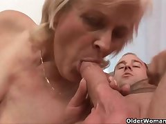 Grandma knows best how upon drain your balls