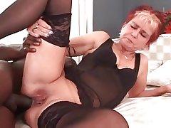 My sexy piercings - pierced granny BBC anal