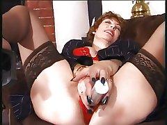granny masturbate more dildo