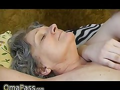 OmaPass: Ancient mature granny with young girl