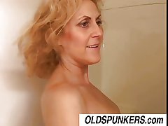 Injurious Dana is a horny old spunker who loves dramatize expunge partiality of cum