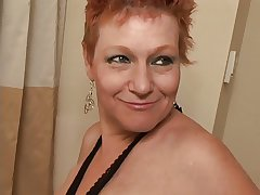 Blinker Cut Redhead Granny Pounded