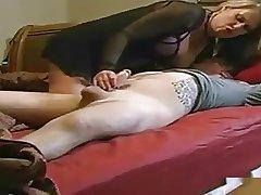 Milf Makes Boy Firing off Cum