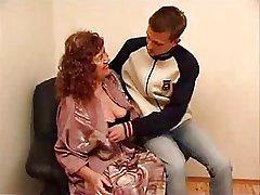 wonderful granny July jerk off a young brat