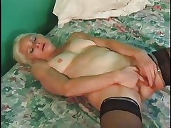 Slutty Granny Gets Everlasting Bonking With Cumshot