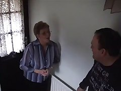 A Big-titted Floosie Gives A Blowjob To A Dick All over A Bedroom