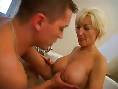 Mature Flaxen-haired Fucked in Babytalk do number two BVR