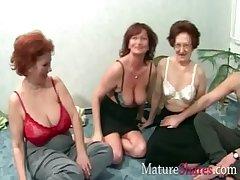 Grannies in swing combo unite